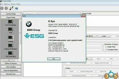 Bmw E-Sys Esys 3.30 Software + Launcher Pro 2.8 Lifetime Token !!! Download