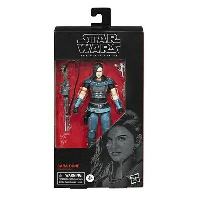 "Star Wars The Mandalorian Cara Dune 6"" Figure Black Series #101 *In Stock NIB"