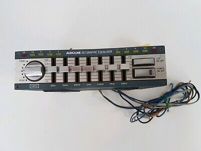 Vintage Audioline Graphic Equaliser Model 307 UNTESTED