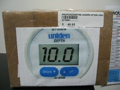 Uniden Qt-206U  Depth Sounder With Alarm