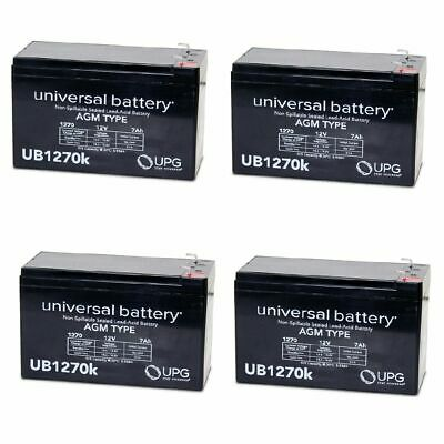 12V 7.2Ah F2 Replacement Battery for Opti-UPS ONEP607
