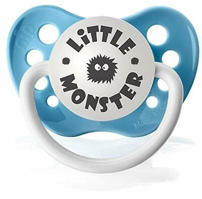 Personalized Pacifiers Little Monster Pacifier in Baby Blue