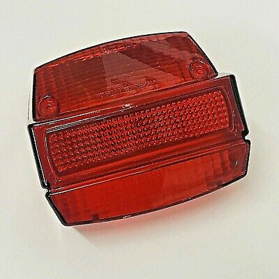 Vespa Small Frame Rear Light Lens By Bosatta Italy Fits Special / Et3 / Ets