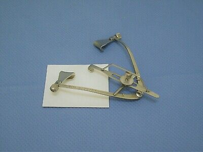 V. Mueller OP113 Maumenee-Park Eye Specula, Ophthalmic, German stainless