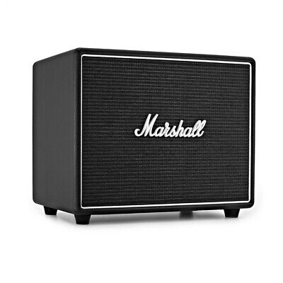 Marshall Woburn Bluetooth Speaker - Classic Black