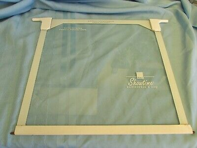 """Ronco Showtime Rotisserie & BBQ White trimmed door 13"""" tall X 14"""" Replacement"""