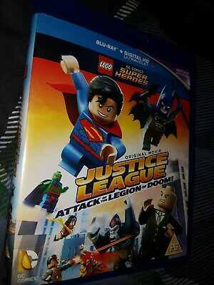 Lego Justice League Attack Of The Legion Of Doom Blu Ray