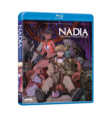 Nadia: The Secret of Blue Water Complete Collection - Anime - Blu-ray