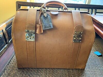 Louis Vuitton Doctor's Bag Special Order Nomade leather Carry On