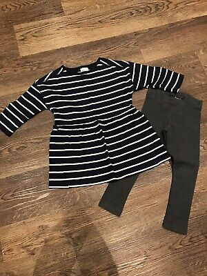 Baby Girls Next Age 3 Years Top And Leggings Outfit Set