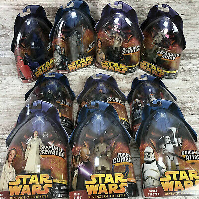 Star Wars Revenge of the Sith - Action Figures - 2005 New In Box - You Choose