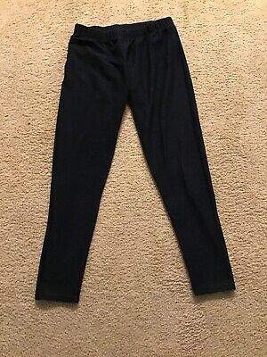 No Boundaries Dark Blue Jean Style Girls Leggings Size M (7-9)