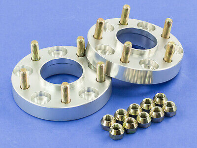 30MM   Silver Hubcentric Wheel Spacers   For Lexus 5x114   60.1   12x1.5