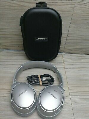 Bose QuietComfort QC35 II Wireless Headphones - Silver
