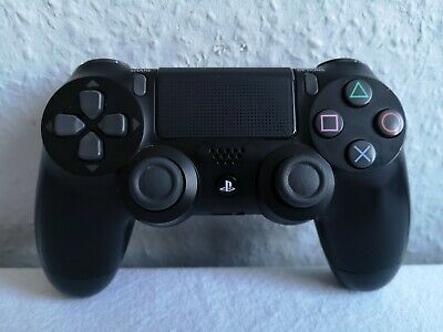 Official Sony Playstation 4 Dualshock 4 Controller Black Genuine Ps4