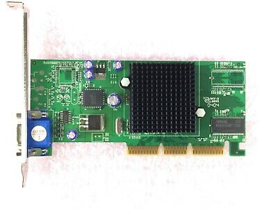 3DFX 3DF 2MMX-32DDR AGP Video Card