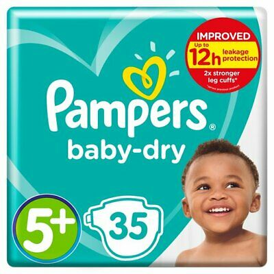 Pampers - Baby Dry 5+ (35's)