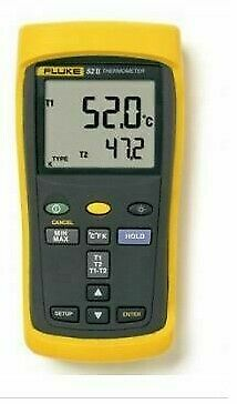 New Fluke 52 II Thermocouple Thermometers