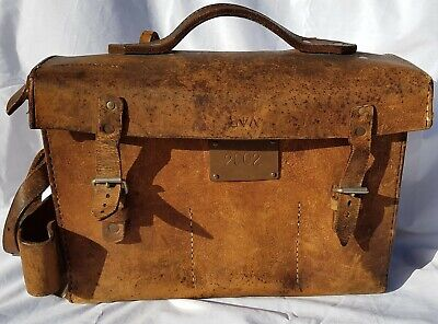 Victorian Railways Leather Guards Bag