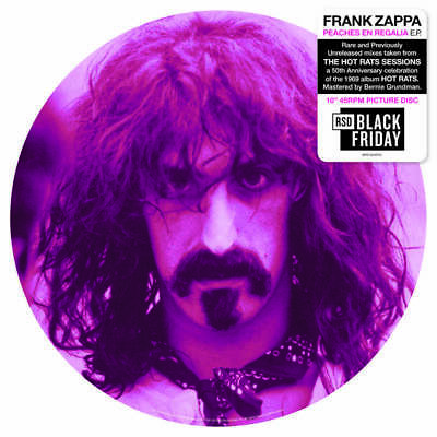 "Frank Zappa - Peaches En Regalia - 10"" Picture Disc- Rsd Black Friday 2019"