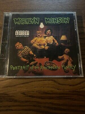 Marilyn Manson : Portrait of American Family CD Excellent Condition