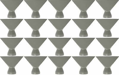 """Loc-Line Gray -2 1/2"""" Flare Nozzle - Pack of 20"""