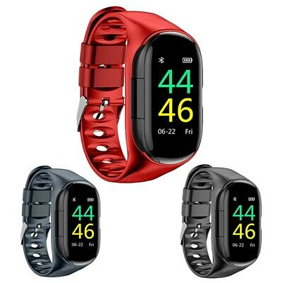 1X(Lemfo M1 Newest Ai Smart Watch With Bluetooth Earphone Heart Rate Monito3C5)
