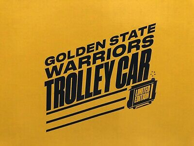 2019 Golden State Warriors Trolley Car Giveaway SGA 10/10/19 With Game Ticket!