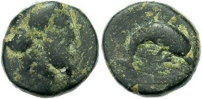 Myus, Caria, 350 - 300 B.C. Genuine Ancient  Greek Coin