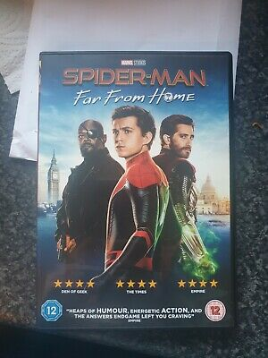 Spiderman Far From Home Dvd 2019 (Unsealed But Unused)