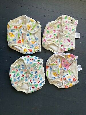 4 Imse vimse organic cotton nappy covers  - size Large