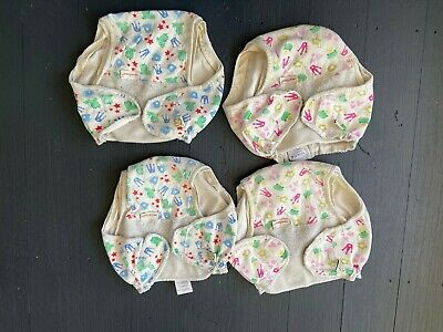 4 Imse vimse organic cotton nappy covers  - size Super Large / XL 13 kgs