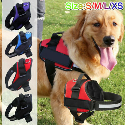 No-Pull Dog Harness Outdoor Adventure Pet Vest Padded Handle Small Medium Large