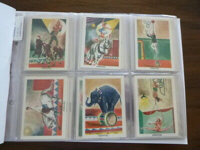 The Kornies Book Of Champions Of The Circus. Complete Set Of 48