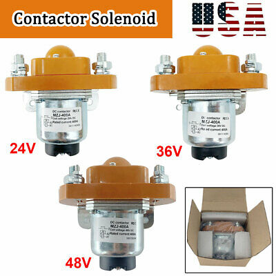 MZJ-400A 400A Contactor Solenoid for Golf Cart Heavy Duty 24V/36V/48V Brand New