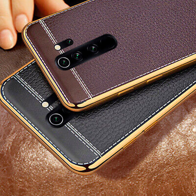 For Xiaomi Redmi Note 8 7 Pro Mi 9T 9T Pro A3 Leather Slim Soft Back Case Cover