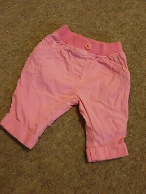Baby Girl Next Hot Pink Trousers Age Up To 1month First Size