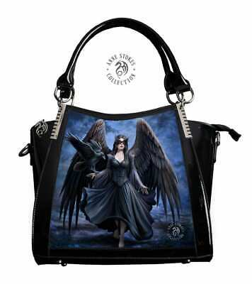 Anne Stokes Handbag featuring 3D Image of Raven