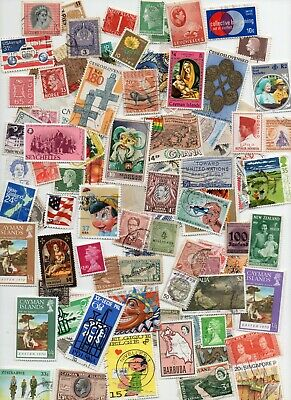 ALL WORLD STAMPS 1000 All Different - Off paper