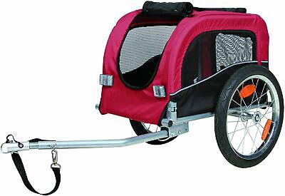 Small Dog Bike Trailer Puppy Pet Cycle Transport & Lead Elderly Infirm Pets.