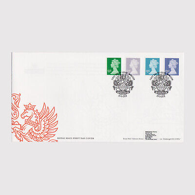 2018 New Definitives First Day Cover (FDC) - Windsor Postmark