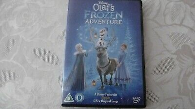 Disney Olafs frozen adventure dvd approx 21 mins long