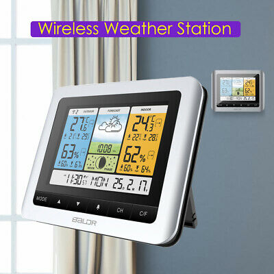 Balder Wireless Weather Station Digital Thermometer Barometer Calendar Humidity