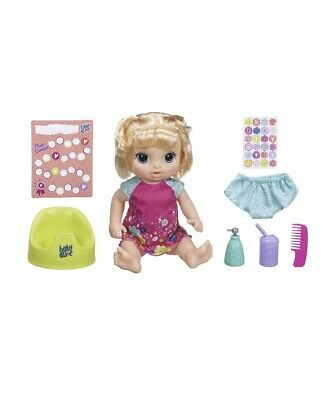 NEW IN BOX Baby Alive Potty Dance Exclusive (Blonde Curly Hair) FREE SHIPPING