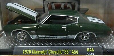 1970 70 Green Ss 454 Super Sport Chevy Chevelle 19-21 M2