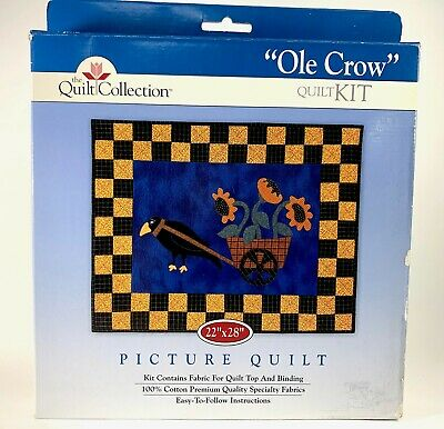 The Quilt Collection OLE CROW Quilt Kit ~ 22x28 ~ BNIB