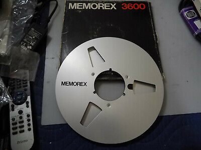 "Memorex 10.5"" Metal Reel Only For Reel To Reel"