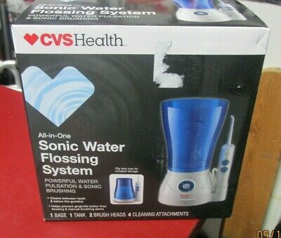 Cvs Heath All -In-One Sonic Water Flossing System 704135