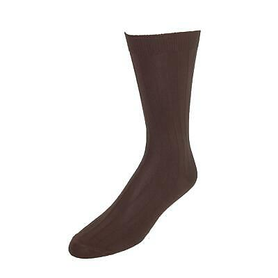 New Vannucci Men's Nylon Wide Wonder Top Circulation Dress Socks