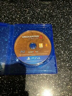 SONY PLAYSTATION 4 PS4 GAME Uncharted 4 A Thief's End